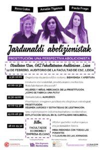 Jornadas abolicionistas UPV